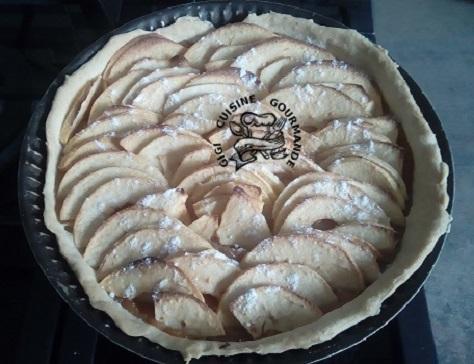 Tarte brisee pommes coings 100 maison