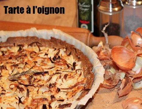Tarte legere a l oignon au romarin et au piment d espelette