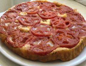 Tarte tatin de tomates