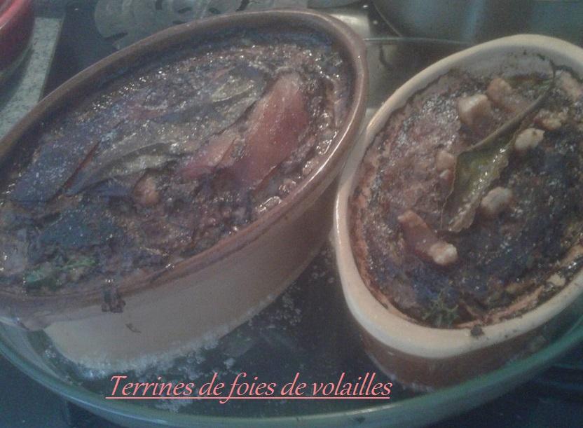 Terrine de foies de volailles