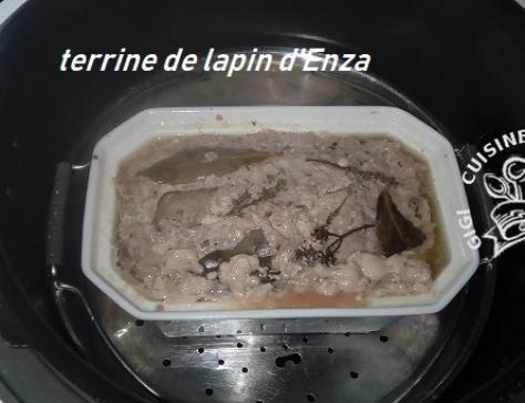 Terrine de lapin d enza au cookeo