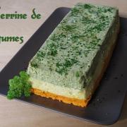 Terrine de legumes aux 3 saveurs