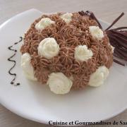 Tourbillon chocolat et mascarpone