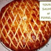 Tourte poireaux saumon