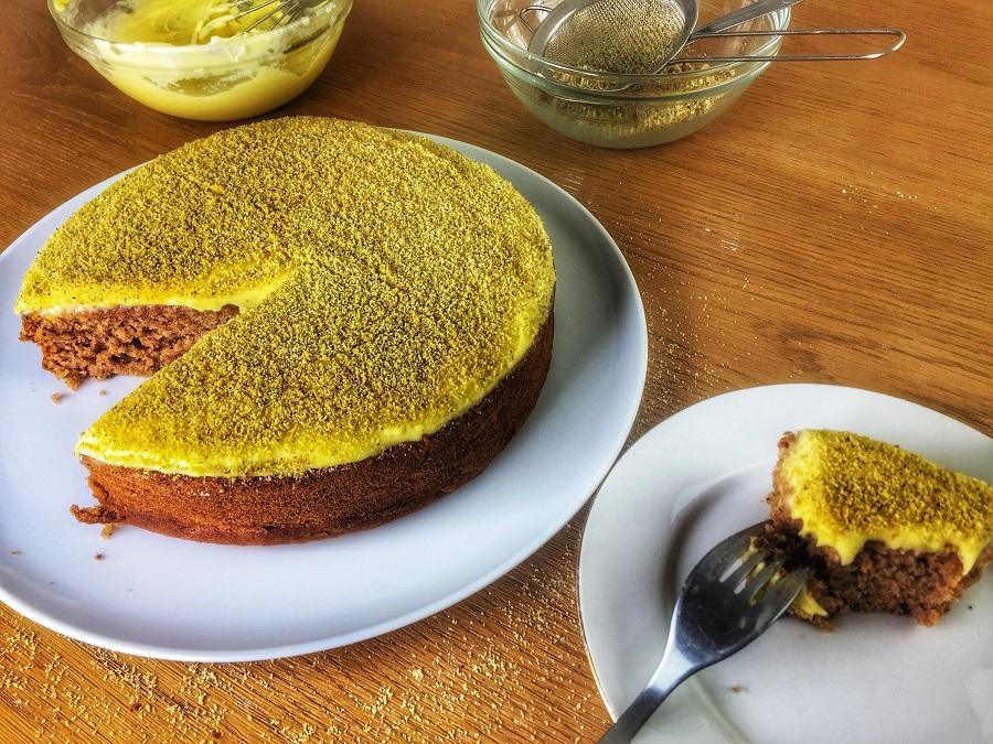 Vegan banana cake ou cake a la banane vegan