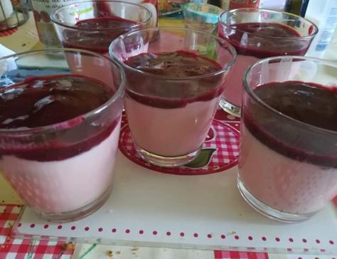 Verrines fraises tagada